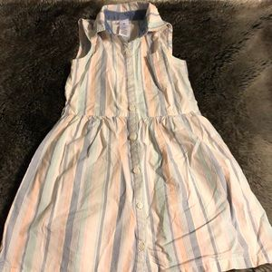 Girls shirt dress in great condition